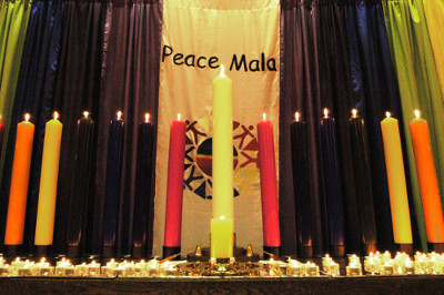 launch of the peace mala