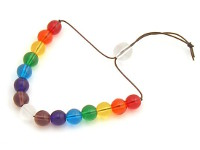 double rainbow peace mala
